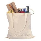 OEM Produce Customized Logo imprimé Promotionnel Craft Tote Beach Coton Canvas Bag