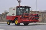공장에서 직업적인 콩 수확기