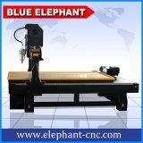 Ele 1324大きい回転式軸線の石造りCNCのルーター、4つの軸線キャビネットのための木製CNC機械