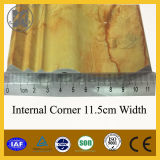 PVC Marble Line para Internal Corner 11.5cm Width
