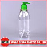 Bouteille en plastique de lavage vide du corps 500ml (ZY01-B089)