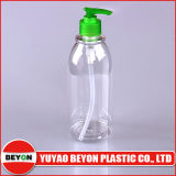 Frasco plástico da lavagem vazia do corpo 500ml (ZY01-B089)