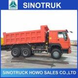 판매를 위한 336HP HOWO 트럭 40ton 쓰레기꾼 덤프 팁 주는 사람 트럭