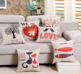 Валик 100% случая подушки хода хлопка декоративный
