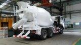 HOWO 10立方メートルの具体的なミキサーのトラック