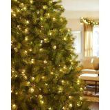7.5 FT. Árvore de Natal artificial Sparkling do pinho com luzes Incandescent tradicionais (MY100.088.00)