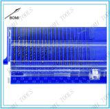 los taladros de torcedura del calibrador de alambre 20-Piece 61-80 fijaron con el caso plástico