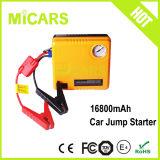 Dispositivo d'avviamento portatile automatico di salto dell'automobile con il compressore d'aria