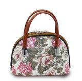 Mini sac d'emballage en cuir d'unité centrale de fleur bon marché de mode