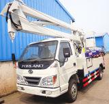 4*2 매춘부 높은 플래트홈 작동 트럭, Dongfeng 의 Jmc 공중 플래트홈 트럭