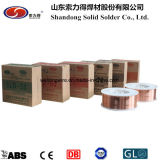 Fil de soudure solide de l'acier du carbone Er70s-6