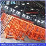 Velocidade de levantamento 0-96m/Min com a grua da construção da seção do mastro