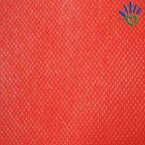 Tissu non-tissé rouge imperméable à l'eau de pp Spundbonde pour des sacs
