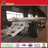 Zugpendel-Transportwagen, der vollen Flachbettschlußteil für Landwirt-Bauernhof-Gebrauch schleppt