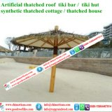 Waterdichte Synthetisch met stro bedekt Kunstmatig met stro bedekt Palmblad met stro bedekt Paraplu