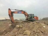 Escavatore molto a buon mercato utilizzato Hitachi Zx200-3 del macchinario di costruzione (fatta in 2009)
