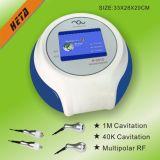 Equipamento aprovado H2012A da beleza do cuidado de pele do RF da cavitação do GV e da BV