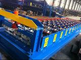 Gewölbte Stahlwellen-Profil-Dach-Blatt-Rolle, die Maschine bildet