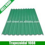 Hoja incombustible de UPVC para el material para techos