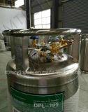 Lo2 Lar criogenico Wheel-Type orizzontale, bombole per gas Lco2