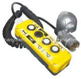 Interruttore della gru della coda di telecomando della guida