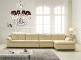 Mobilia domestica moderna, L sofà del cuoio di figura (B. 889)