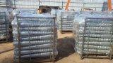 Анкер HDG проекта панели солнечных батарей земной, земной винт