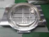 Grand aluminium plaqué utilisé pour la pièce de usinage de commande numérique par ordinateur de machines dans la haute précision