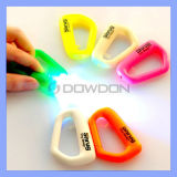 LED Lights Keychain Backpack Buckles Carabiners Klipps für Home Travel