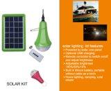 Осветительная установка домашней системы гловальных солнечных наборов освещения миниая солнечная портативная солнечная домашняя