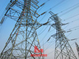 220kv Double Circuit Drum Type Transmission Line Tension Tower