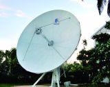 9.0m örtlich festgelegte Rx nur Doppelform-Satellitenantenne