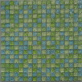 300X300mm/15X15X8mm Ice Crack Glass Mosaic (VMG8208)