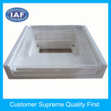 Kundenspezifisches Plastikprodukt des transparenten Plastikdeckels