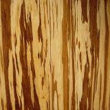 Laque UV de plancher en bambou tissée par brin de tigre