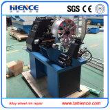 Automatische hydraulische Felge, die Maschine mit Drehbank-Funktion geraderichtet