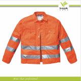 Tuta riflettente di alta qualità di sicurezza su ordinazione del cotone (KY-U039)