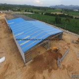Magazzino di costruzione fabbricato della struttura d'acciaio