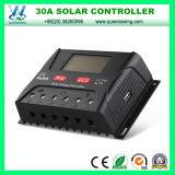 contrôleur solaire de charge de 30A 12/24V PWM pour le système solaire (QWP-SR-HP2430A)