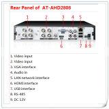 8 Kanal HD 1080P Ahd DVR Standalone DVR für CCTV-Sicherheitssystem