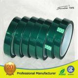 Cinta verde del animal doméstico con resistencia da alta temperatura 200 grados