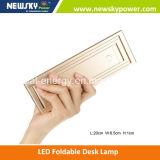 Lâmpada de mesa dobrável portátil popular do diodo emissor de luz do USB