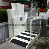 ホーム身体障害者のための250kg車椅子用段差解消機