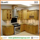 Granito nero bianco Worktops del Brown/di verde giallo per la stanza da bagno della cucina