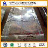 Plaque d'appui ondulée en acier galvanisée par PPGI de couleur