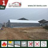 15X50m防水防火効力のあるPVC産業倉庫の構造