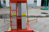 10m sondern Aluminiummast-Aufzug-Mann-Aufzug-Plattform-hydraulischen vertikalen Plattform-Aufzug aus