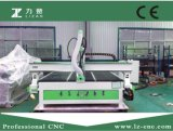 Ranurador manual de la carpintería del CNC del eje de rotación de China