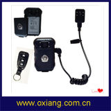 Macchina fotografica esterna portata corpo di sostegno della macchina fotografica della polizia di visione notturna 1080P mini