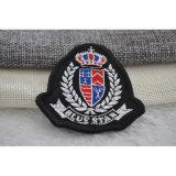 Étiquette tissée par densité pour le garde de sécurité/insigne d'école